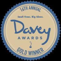 2020 Davey Award Seal Gold