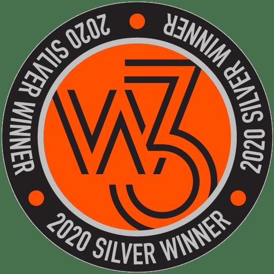 2020 W3 Awards Seal Silver