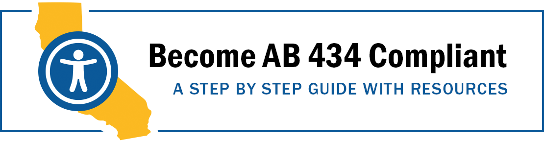 AB 434 Compliance Step-by-step guide