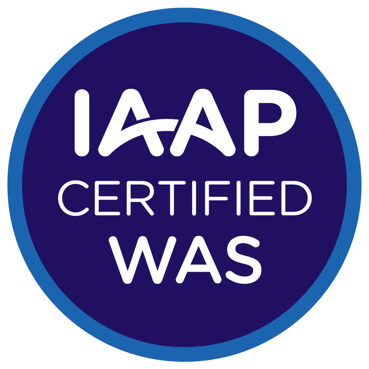 IAAP Web Accessibility Specialist badge