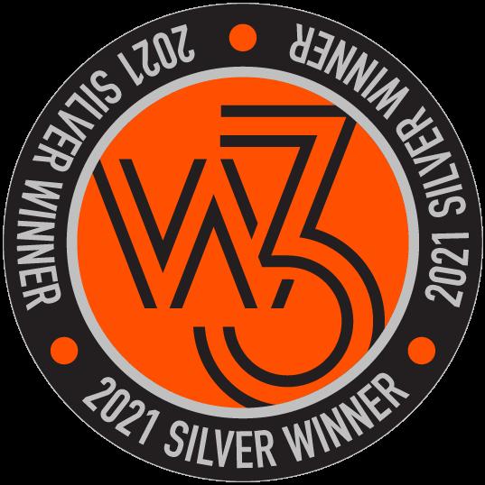 2021 W3 Silver Award